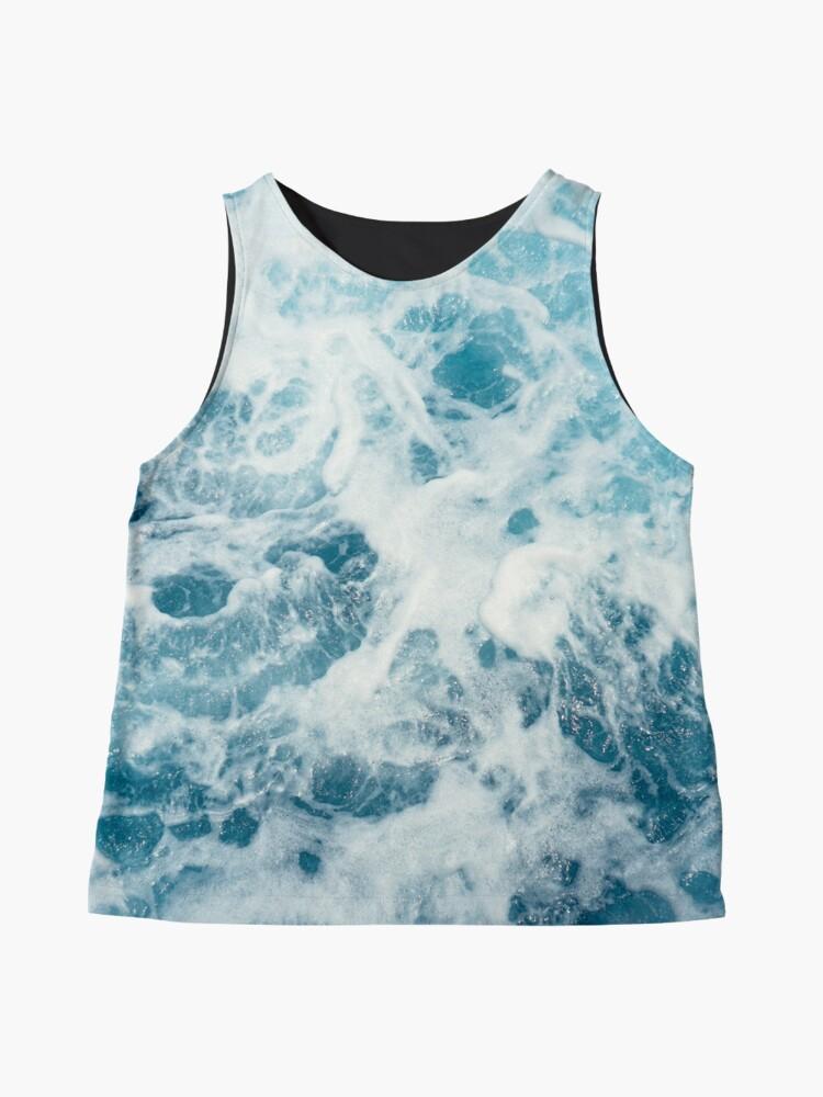 Alternate view of Sea Waves in the Ocean Sleeveless Top