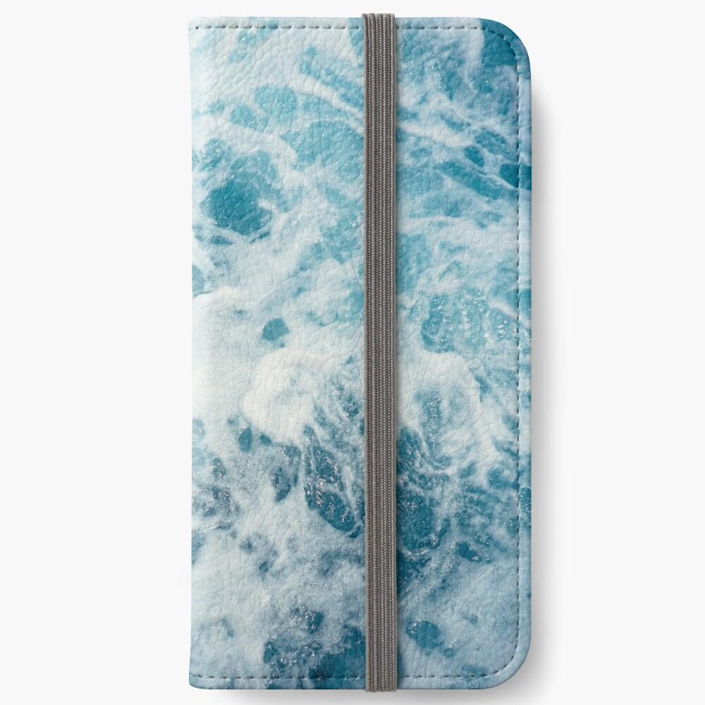 Sea Waves in the Ocean iPhone Wallet