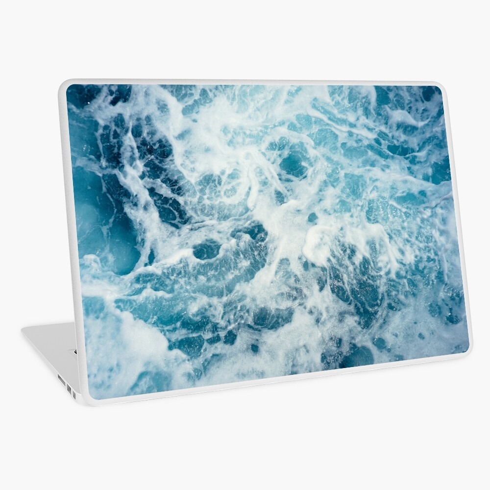 Sea Waves in the Ocean Laptop Skin