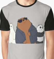 We Bare Bears - cool bears  Graphic T-Shirt