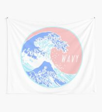 Aesthetic Great Wave Wavy Wall Tapestry