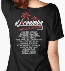 """DJ Roomba """"World Tour"""" Merch T-Shirt Women's Relaxed Fit T-Shirt"""