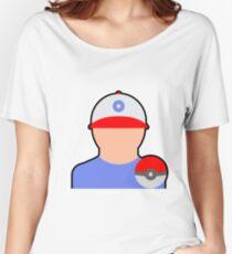 Pokemon master (white) Women's Relaxed Fit T-Shirt