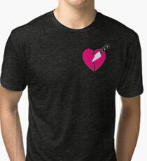 Camiseta de tejido mixto Lil Xan traicionado