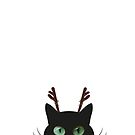 Rudolph Cat by ibjennyjenny