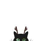Rudolph Cat by ibjennyjenny