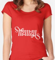 Namal - Ambigram Women's Fitted Scoop T-Shirt