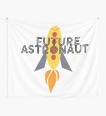 Future Astronaut Wall Tapestry