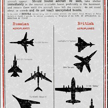 Public Warning - Aeroplane Identification by sionyboy82