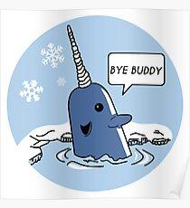 Póster Bye Buddy - Elf