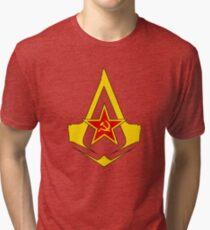 Assassin's Creed Communist geek nerd anonymous revolution Tri-blend T-Shirt