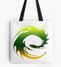 Green Dragon - Eragon Tote Bag