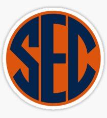 Auburn Tigers SEC Logo Sticker
