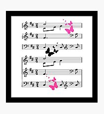 Musical Abstract Photographic Print