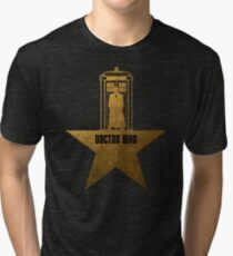 Doctor Who - Hamilton Crossover Tri-blend T-Shirt