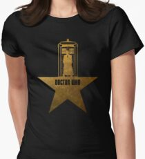 Doctor Who - Hamilton Crossover Women's Fitted T-Shirt