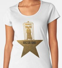 Doctor Who - Hamilton Crossover Women's Premium T-Shirt
