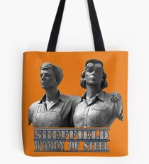 sheffield women of steel sculpture Tote Bag