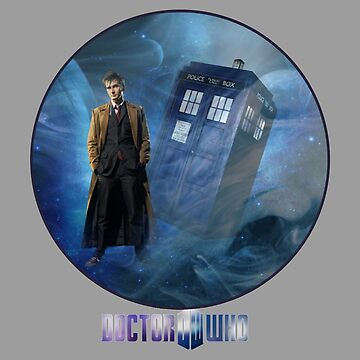 Dr. Who and TARDIS  by Sassenach616