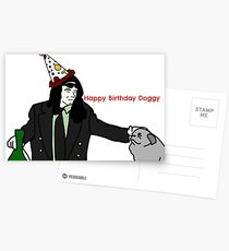 Happy birthday Doggy Postcards