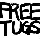 FREE TUGS (black) by Ethel Yarwood