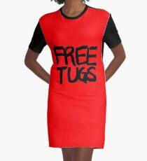 FREE TUGS (black) Graphic T-Shirt Dress