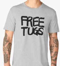 FREE TUGS (black) Men's Premium T-Shirt