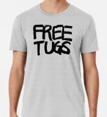 FREE TUGS (black) Men's Premium T-Shirt
