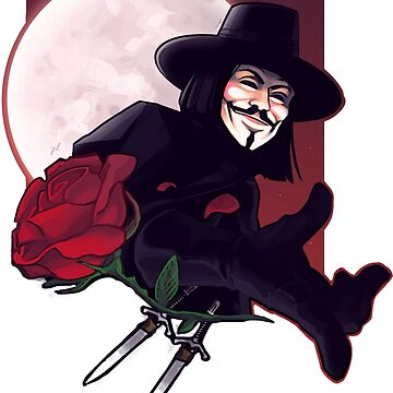 V for Vendetta by f-lino
