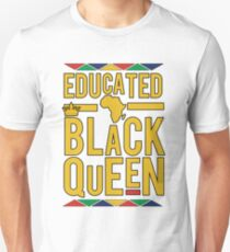EDUCATED BLACK QUEEN  T-Shirt