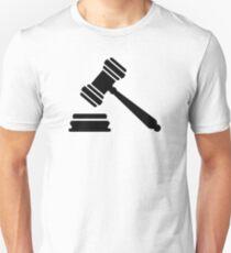 Judge hammer T-Shirt