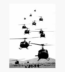 UH1 Huey Helicopters Photographic Print