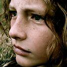 green gaze by Michael Gray