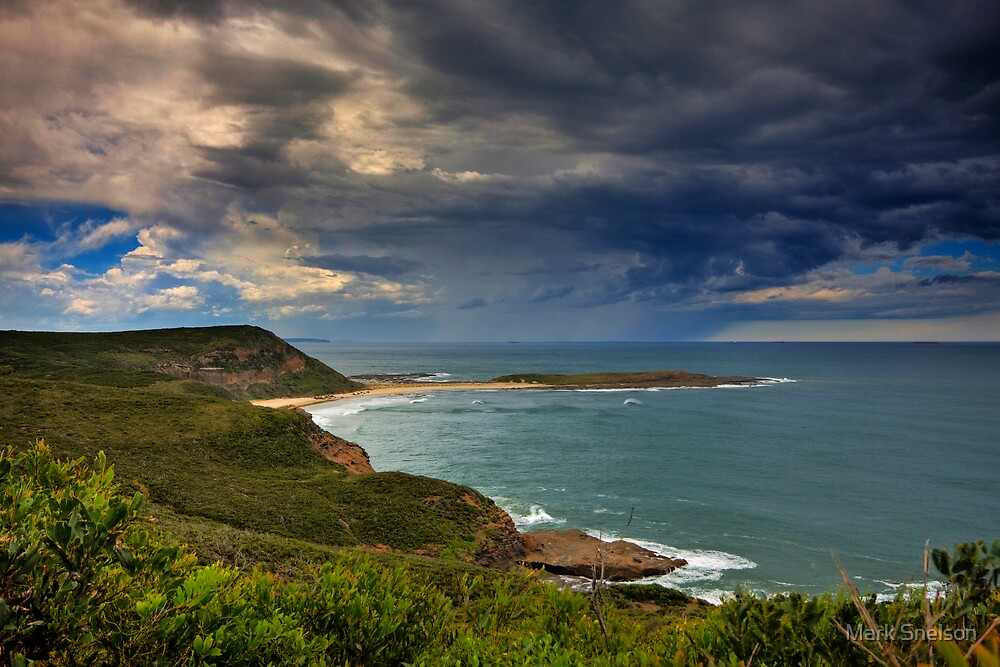 Coastal Storm Brewing by Mark Snelson