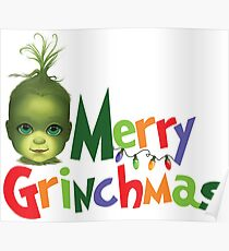 Grinch | Merry Grinchmas (BITTY BADDIES) Poster