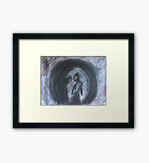 Charcoal Romance Framed Print