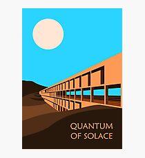 Quantum of Solace inspired design Photographic Print
