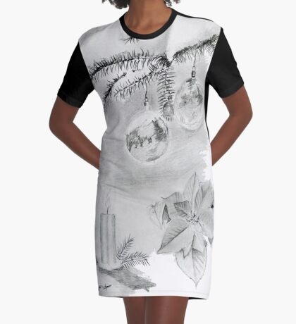 Christmas time Graphic T-Shirt Dress