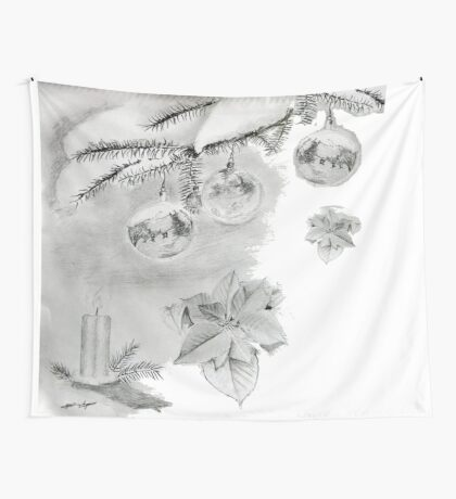 Christmas time Wall Tapestry