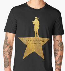 HARRINGTON: An American Babysitter (gold texture) Men's Premium T-Shirt