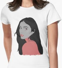 banks muted Women's Fitted T-Shirt