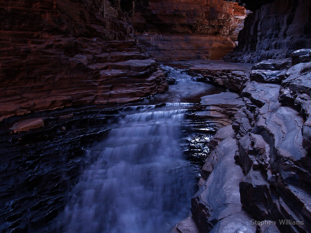 Colours of Karijini by Stephen  Williams