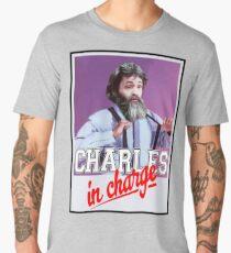 Charles Manson - Charles in Charge  Men's Premium T-Shirt