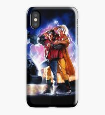 Back to the Future II iPhone Case