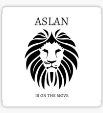 Aslan is on the Move - C.S. Lewis Sticker