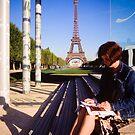 Eiffel Tower, Paris by David Lade