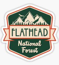 Flathead National Forest Sticker