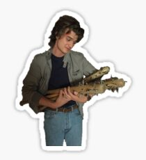 Steve Harrington with Bats  Sticker