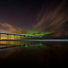 Northern Lights over Saltburn  by WhartonWizard