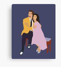 Maria and Tony Canvas Print